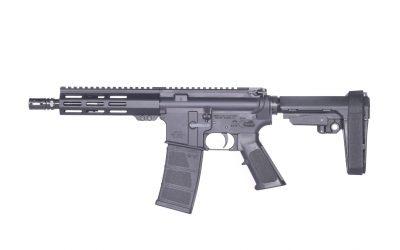 PISTOL AR15 556 CQB8, Andro Corp, SB Tactical, AR15 Pistol