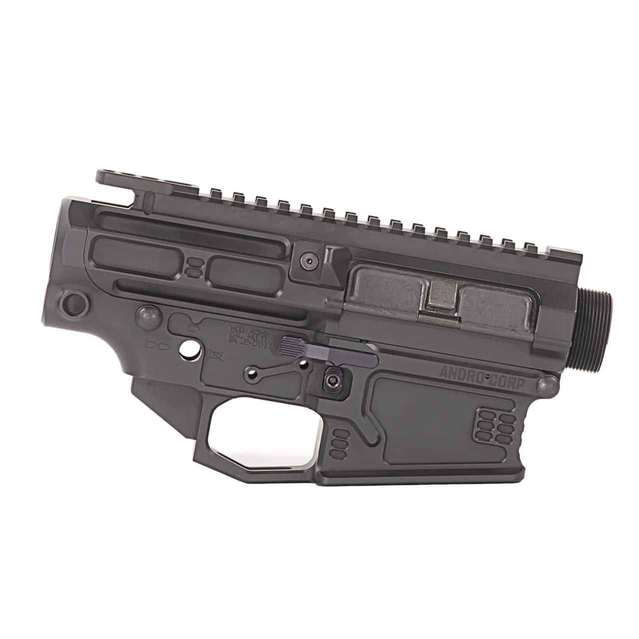 AR10 Ambidextrous Billet Receiver Set, Andro Corp