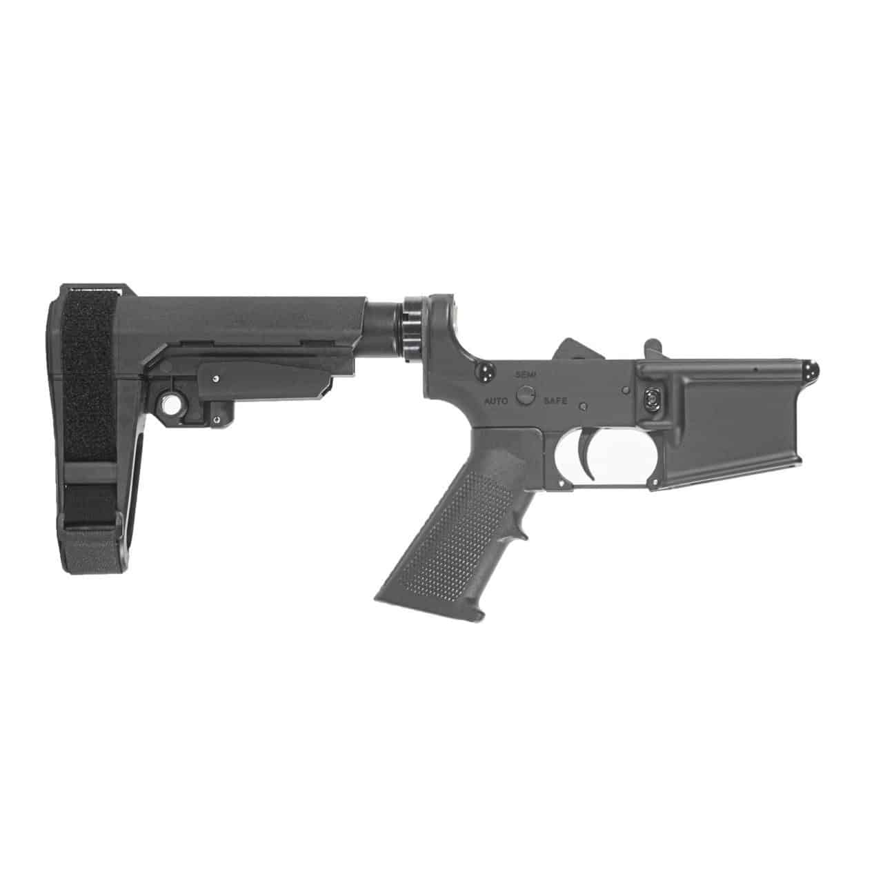 AR15  M4 PISTOL LOWER RECEIVER, ANDRO CORP, SB TACTICAL SBA3 PISTOL BRACE