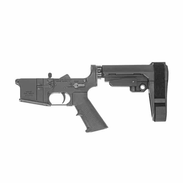 SBA3, SB TACTICAL, ANDRO CORP, ACI, AR15 LOWER, AR15, 556 LOWER, 300 BLACKOUT LOWER, AR15 PISTOL LOWER RECEIVER,