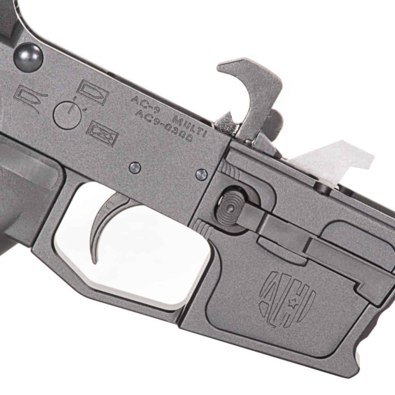 AR9  M4 PISTOL LOWER RECEIVER, ANDRO CORP, SB TACTICAL SBA3 PISTOL BRACE, glock, ar15 9mm
