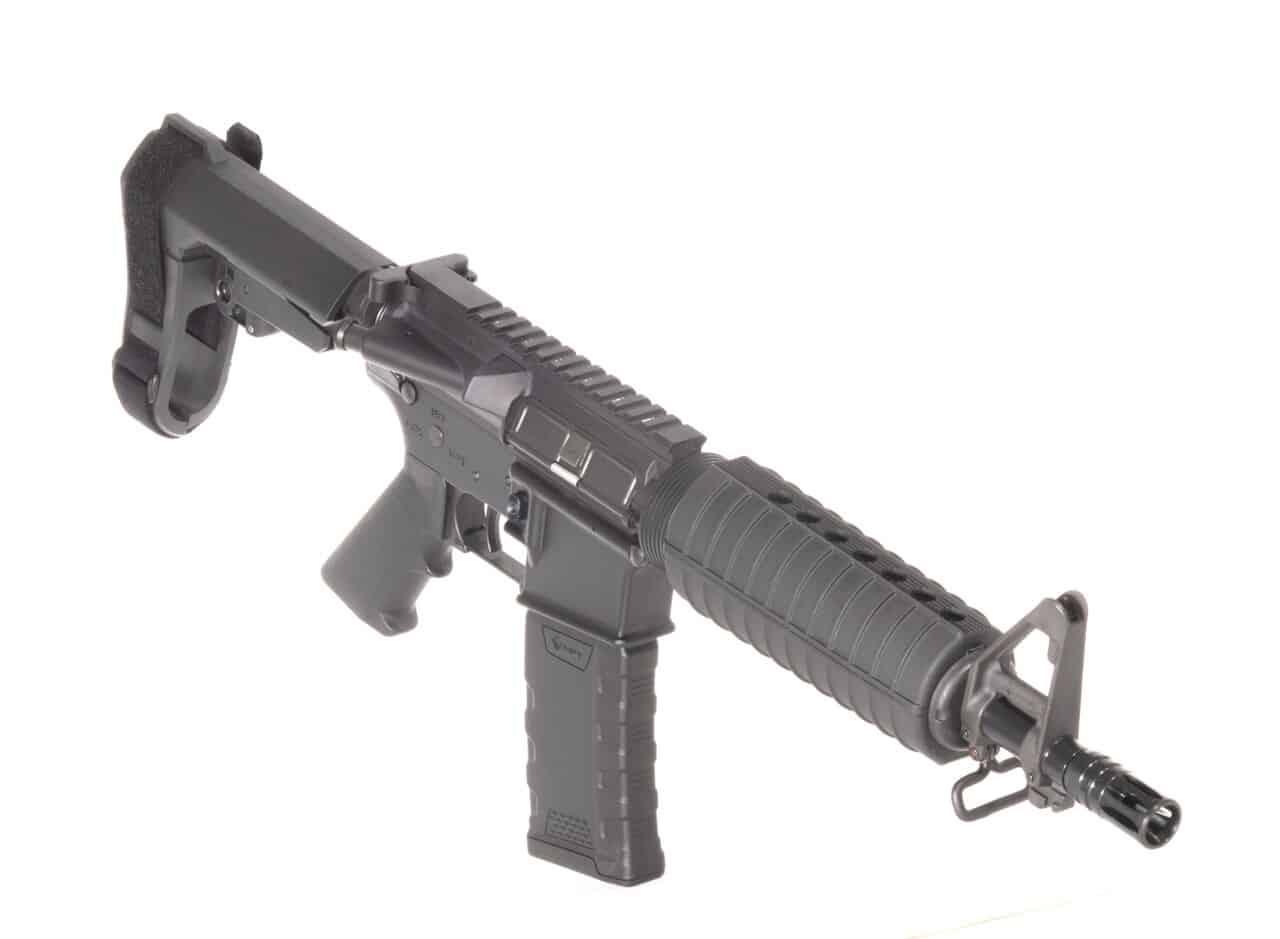 556 NATO 10.3 INCH M4 SBA3 Andro Corp AR15 Pistol Crane Spec
