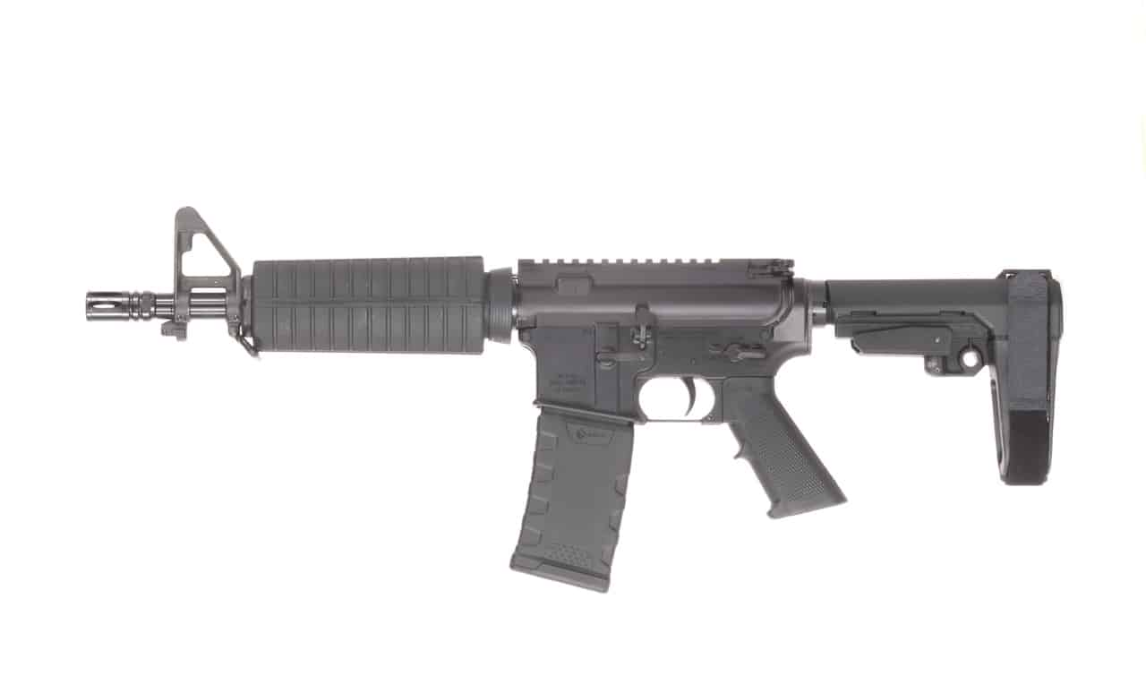556 NATO 10.3 inch M4 SBA3 Andro Corp AR15 Pistol