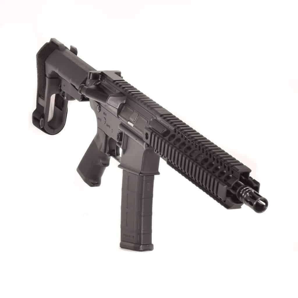 AR15 556 QUADRAIL 10.3 INCH SBA3 MLOK Andro Corp Pistol