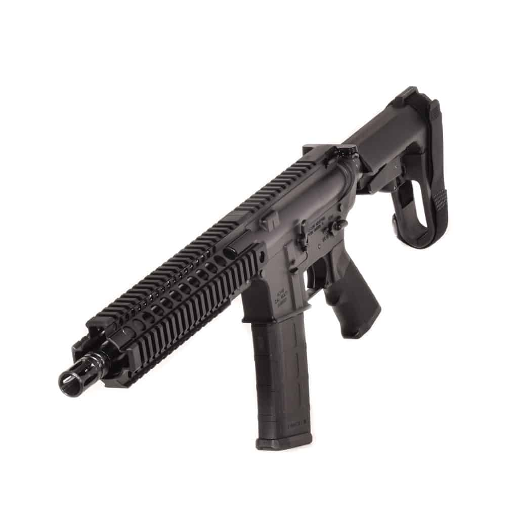 "556 NATO 10.3"" SBA3 MIDWEST INDUSTRIES QUADRAIL Pistol Crane Spec ANDRO CORP AR15"