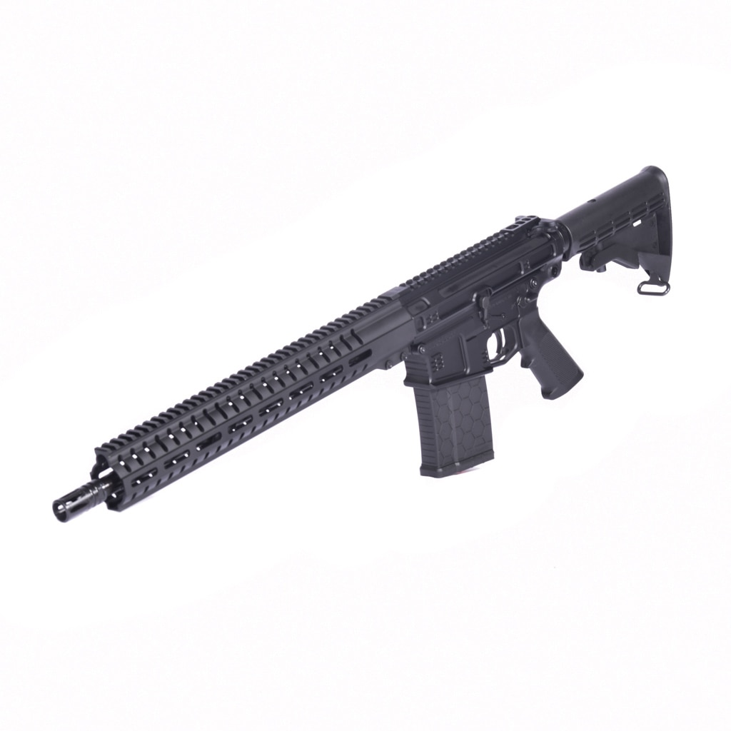AR10 308 DIVERGENT 16 BASE MOD 1, ANDRO CORP RIFLE 30 CAL