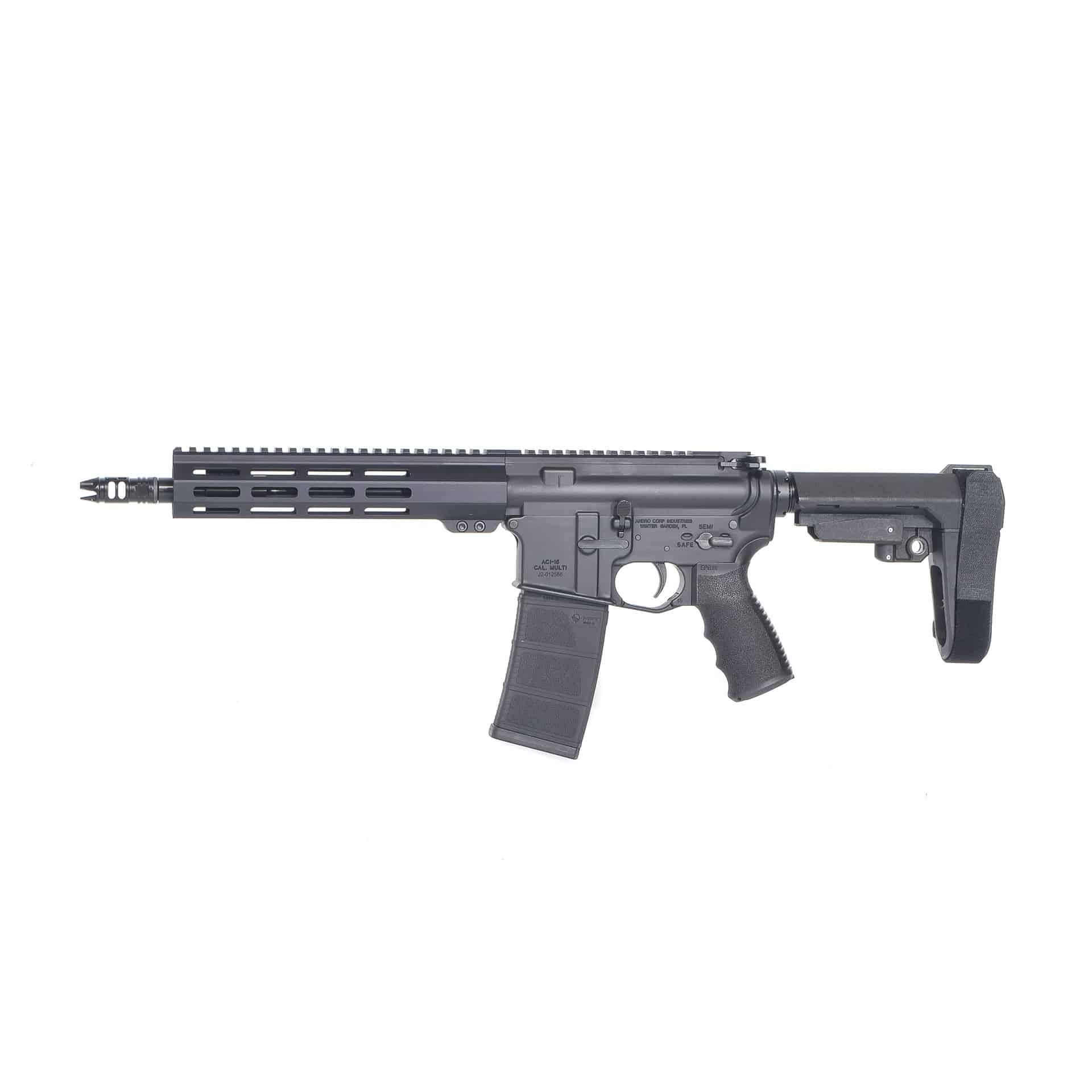 AR15 556 PISTOL 10.3 INCH SBA3 MLOK Andro Corp AR15 Pistol