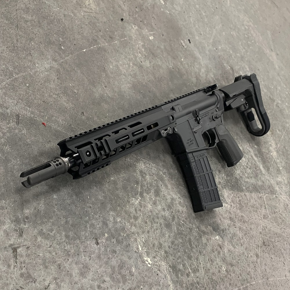 556 GEISSELE RAIL AR15 10.3 INCH SBA3 MLOK Andro Corp Pistol