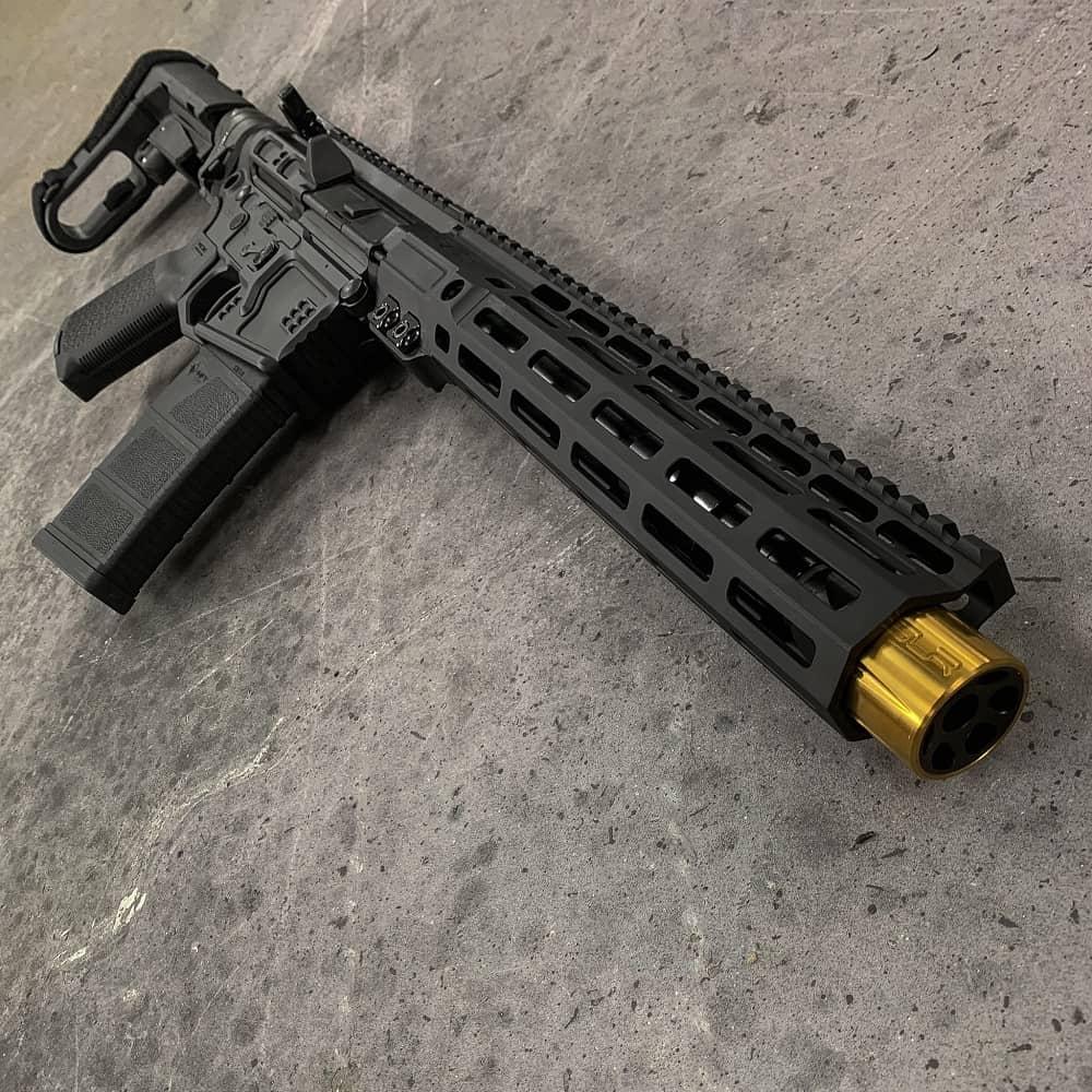 BILLET AR15 556 NATO 10.3 INCH SBA3 MLOK Andro Corp AR15 Pistol