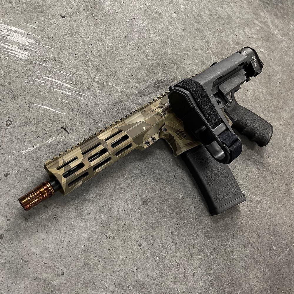 CERAKOTE AR15 556 NATO 8 INCH SBA3 MLOK Andro Corp Pistol