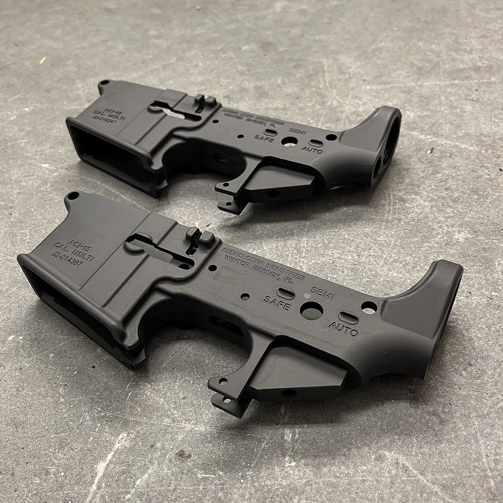 AR15 LOWER RECEIVER BLEM X 2 | ANDRO CORP INDUSTRIES