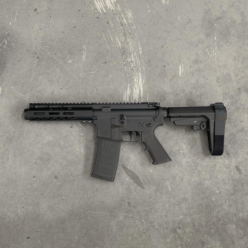 5.56 5 INCH AR15 SBA3 MLOK Andro Corp AR15 MICRO Pistol