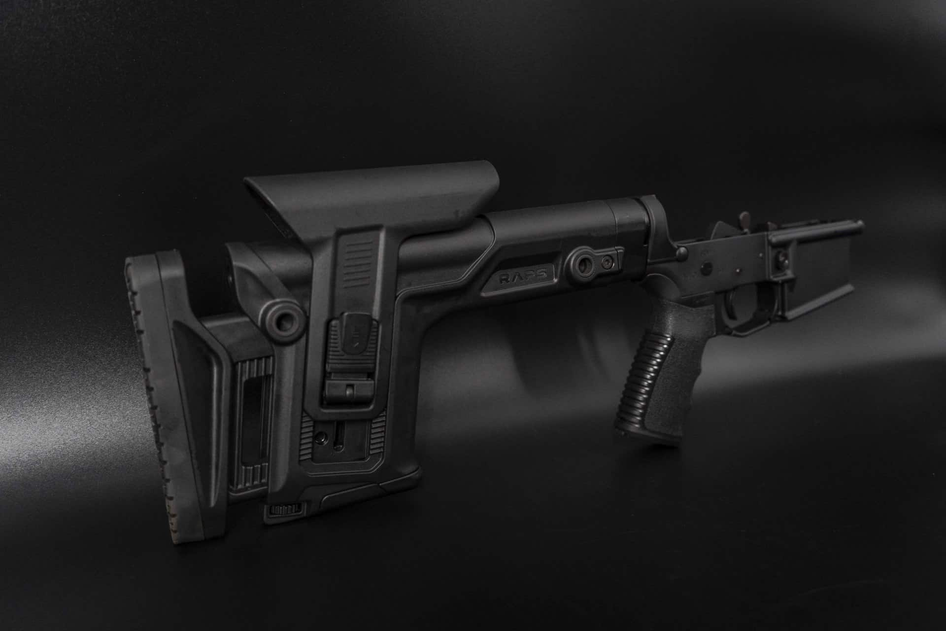 AR15 LOWER RIFLE PRS ANDRO CORP RAPS STOCK