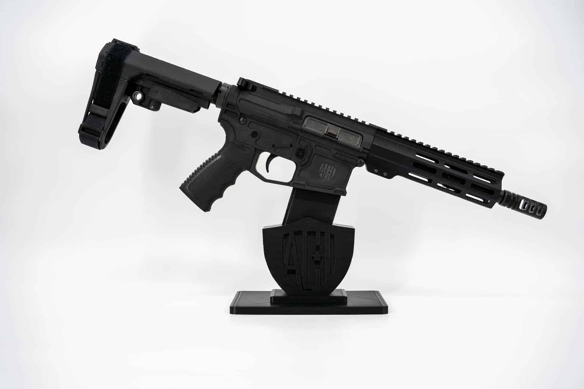 300 blackout billet 8 inch MLOK SBA3 Andro Corp AR15 Pistol