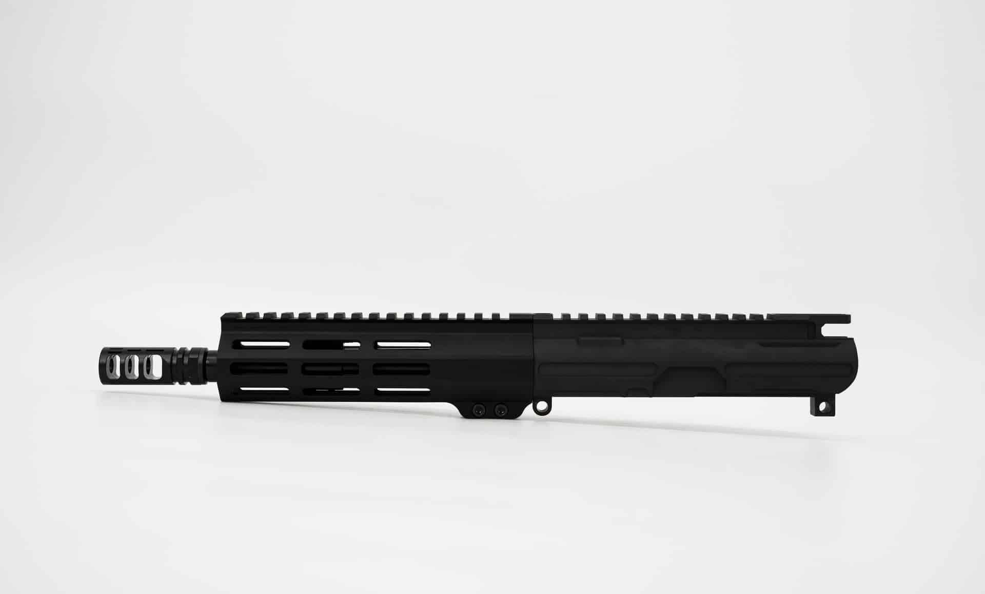 300 blackout billet UPPER 8 inch MLOK SBA3 Andro Corp AR15 Pistol